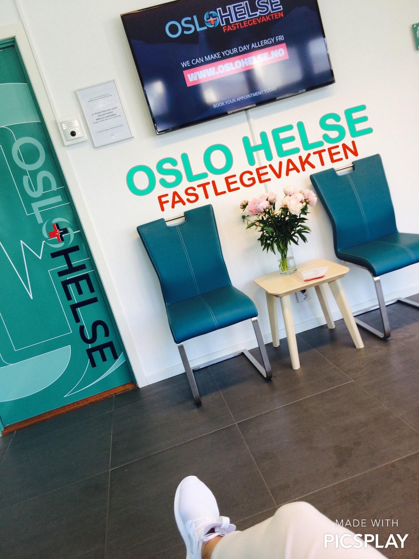 Oslo Helse waiting room